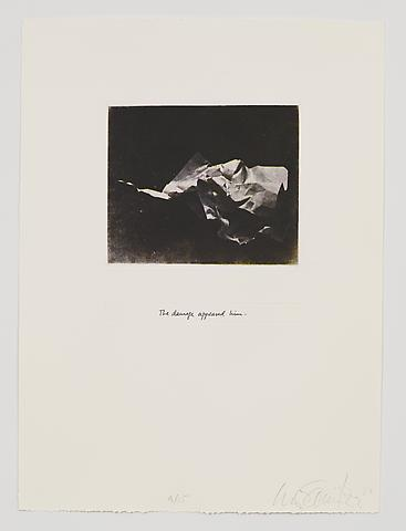 The Damage Appeased Him (1983-84) Photo etching in 35 parts; 29.53h x 21.65w in (75.01h x 54.99w cm) Edition of 15 with 1 AP