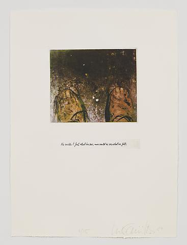 He Couldn't See What He Felt, Nor Feel What He Saw (1983-84) Photo etching in 35 parts; 29.53h x 21.65w in (75.01h x 54.99w cm) Edition of 15 with 1 AP