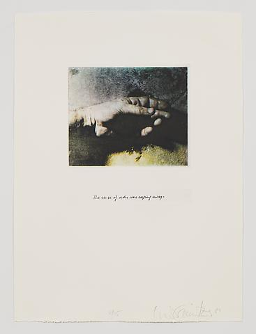 The Sense of Order Was Seeping Away (1983-84) Photo etching in 35 parts; 29.53h x 21.65w in (75.01h x 54.99w cm) Edition of 15 with 1 AP