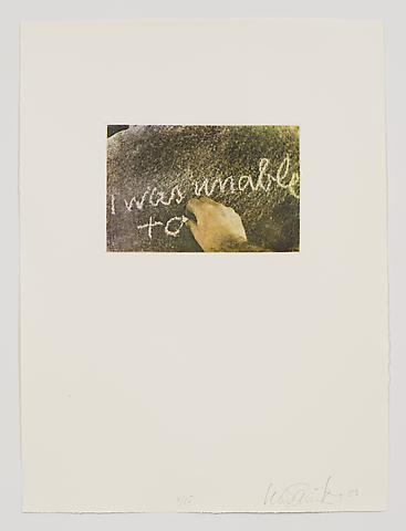 Untitled (1983-84) Photo etching in 35 parts; 29.53h x 21.65w in (75.01h x 54.99w cm) Edition of 15 with 1 AP