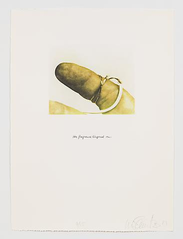 Her Fragrance Lingered On (1983-84) Photo etching in 35 parts; 29.53h x 21.65w in (75.01h x 54.99w cm) Edition of 15 with 1 AP