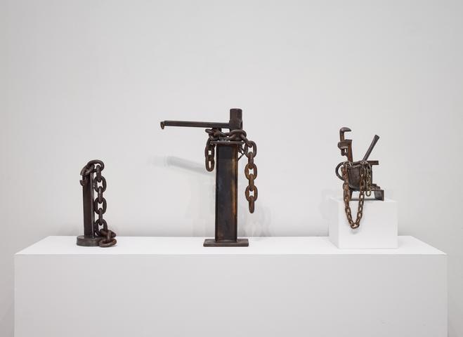 Melvin Edwards: In Oklahoma, installation view, Alexander Gray Associates (2017)