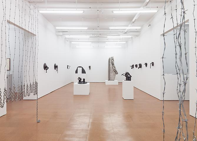 Melvin Edwards Installation view, Alexander Gray Associates (2012)