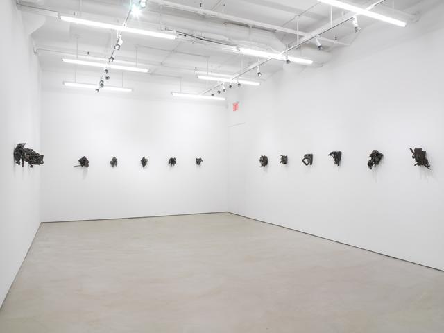 Melvin Edwards, installation view, Alexander Gray Associates (2014)