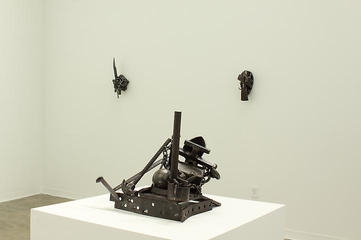 Melvin Edwards, Installation view, Atlanta Contemporary Art Center (2011)