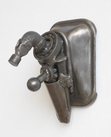 Hammer (1965) Welded steel 10h x 10w x 7d in (25.4h x 25.4w x 17.8d cm)