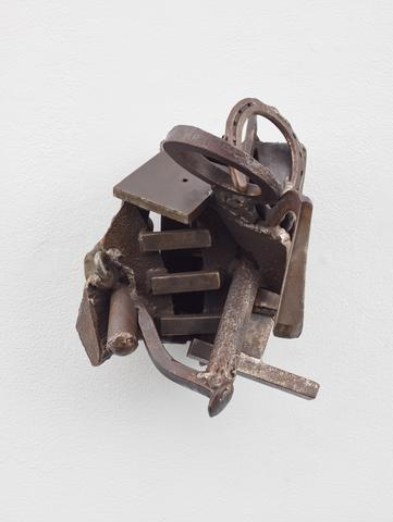 Melvin Edwards, Igun Eronmwon, 1993 Welded steel 12.5 x 11.88 x 11 in (31.75h x 30.18w x 27.94d cm)