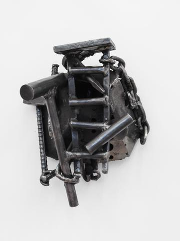 Melvin Edwards Ile Ogun, 2003 Welded steel, 12.5h x 10w x 7.5d in (31.75h x 25.4w x 19.05d cm)