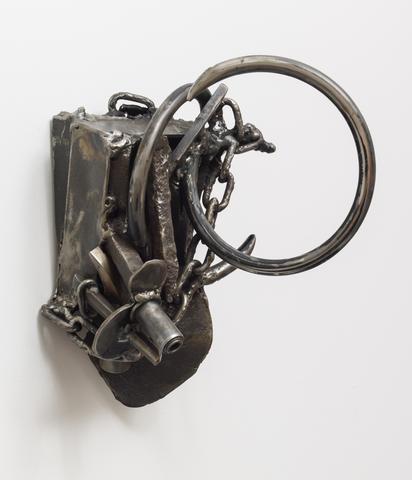 Loving Spiral (2005) Welded steel; 11.8h x 8w x 11d in (29.97h x 20.32w x 27.94d cm) Collection Rose Art Museum, Brandeis University, Waltham, MA