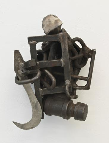 Nunake (1993)<br>Welded steel<br>14h x 9.5w x 6.8d in (35.56h x 24.13w x 17.27d cm)