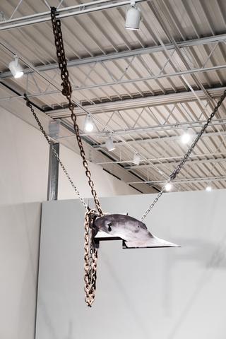 <i>Melvin Edwards</i>, installation view, Oklahoma Contemporary (2016)