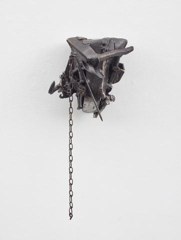Melvin Edwards, To Tell The Truth, 1994 Welded steel 13.38 x 10 x 9.25 in (33.99h x 25.4w x 23.5d cm)