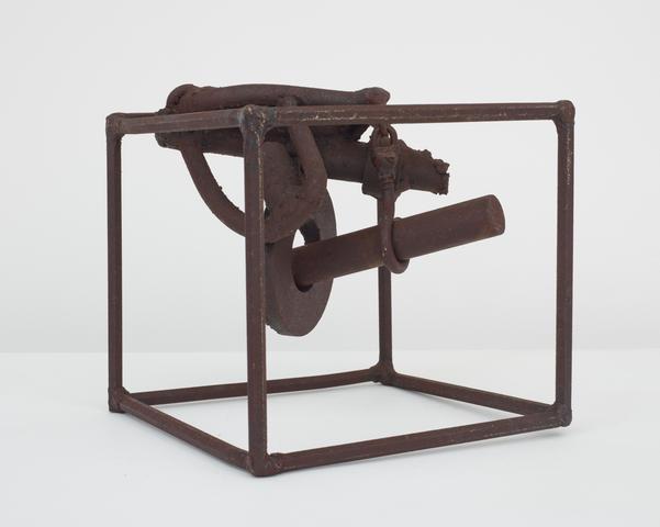 Untitled (Prototype II Three Small Sculptures) (1965-66) Welded steel 6.75h x 7.5w x 7.5d in (17.1h x 19.1w x 19.1d cm)