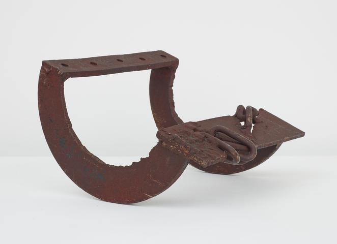 Untitled (Prototype Small Rocker) (c. 1970) Welded steel 7h x 10.5w x 10d in (17.8h x 26.7w x 25.4d cm)