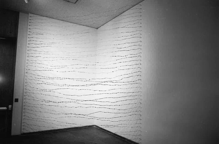 Corner for Ana (1970) Barbed Wire Dimensions variable