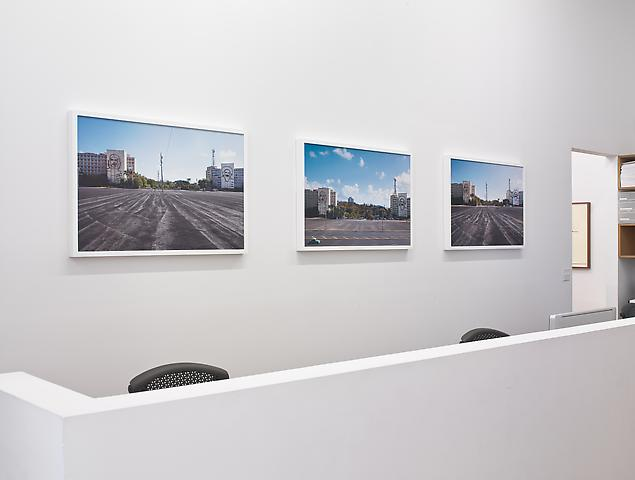 Coco Fusco The Empty Plaza / La Plaza Vacia (2012) Installation view, Alexander Gray Associates (2012)