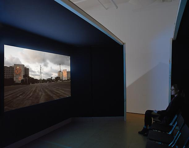 Coco Fusco Installation view, Alexander Gray Associates (2012)