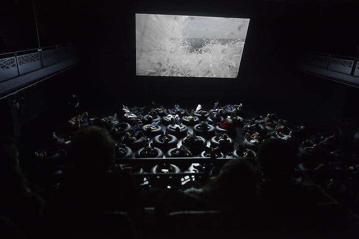 Coco Fusco Y entonces el mar te habla (And the Sea Will Talk to You) (2012) Performative video, Brooklyn Academy of Music