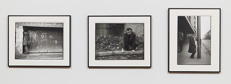 Hands (1964) Silver gelatin prints in 3 parts; 11.6h x 15.3w in (29.5h x 38.9w cm) (each) Edition 1 of 5 with 1 AP