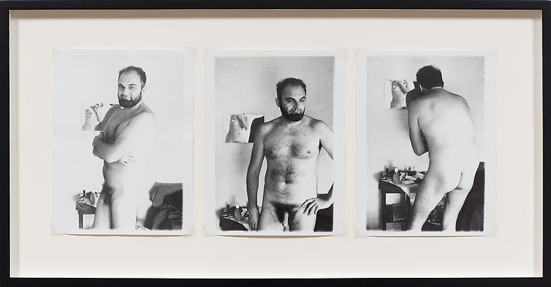 Rovinj-Summer (1975) Silver gelatin prints in 3 parts (unique) 9.4h x 7.1w in (23.9h x 18w cm) (each)