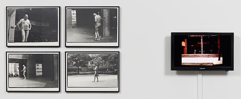 Talking (Rio Bravo) (1982) Silver gelatin prints in 4 parts (unique); 11.6h x 15.7w in (29.5h x 39.9w cm) (each) Digitized VHS/Beta tape; 3:54 min
