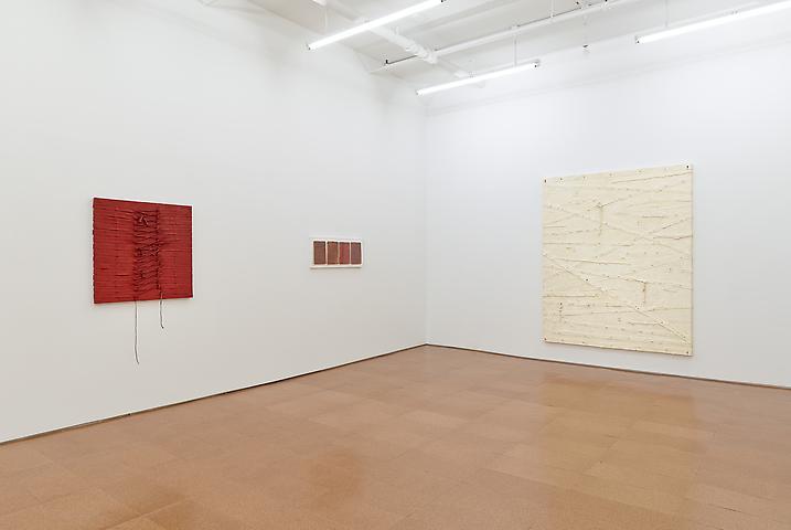 Harmony Hammond Installation view, Alexander Gray Associates (2013)