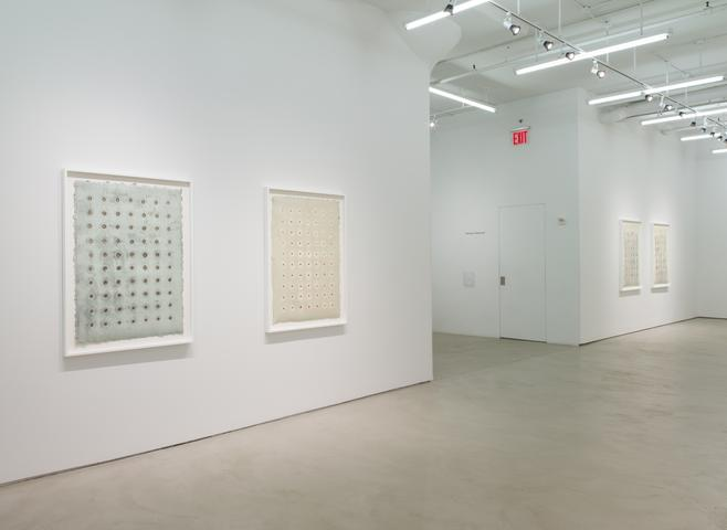 Harmony Hammond, installation view, Alexander Gray Associates (2016)