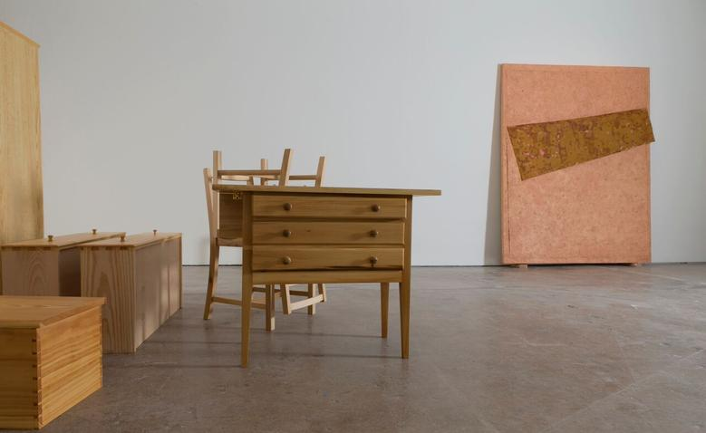 <i>Angle of Repose</i>, Installation View, SITE Santa Fe (2015)