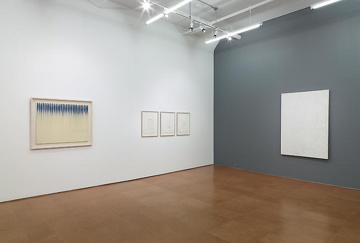 Overcoming the Modern; Dansaekhwa: The Korean Monochrome Movement Installation view, Alexander Gray Associates (2014)