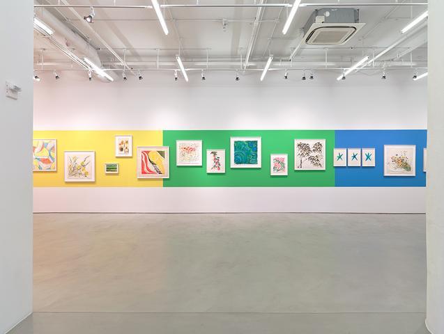 Vera Neumann: <i>Vera Paints a Rainbow</i>, Installation View, Alexander Gray Associates (2015)