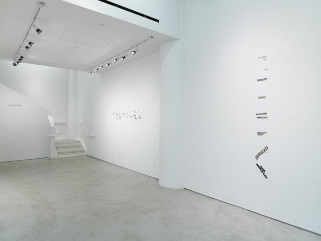 Lorraine O'Grady, Installation View, Alexander Gray Associates (2015)