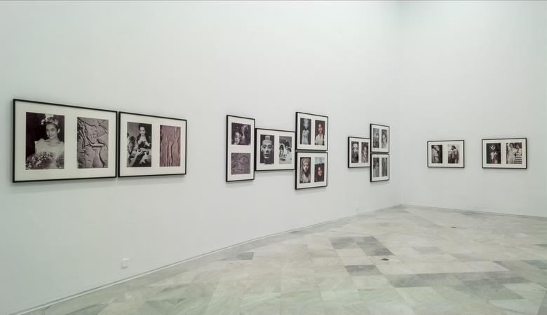 <i>Lorraine O'Grady: Aproximación Inicial</i>, installation view, Centro Andaluz de Arte Contemporáneo (2016)