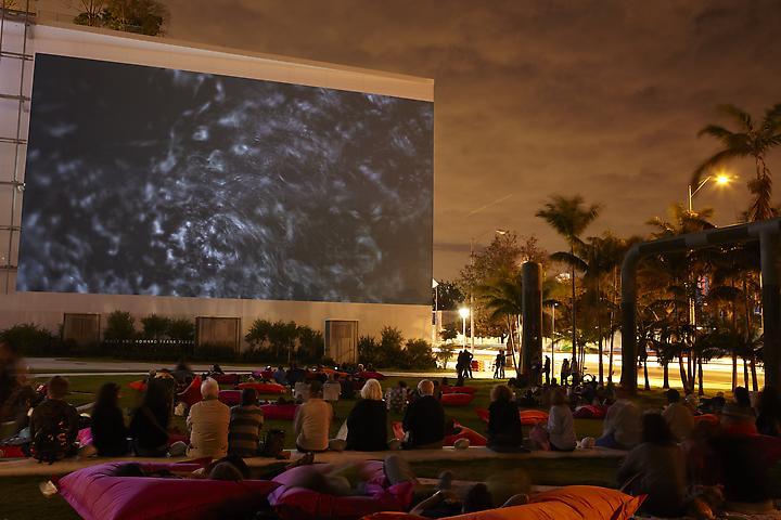 Lorraine O'Grady Landscape (Western Hemisphere) (2010); Art Basel Miami Beach 2011