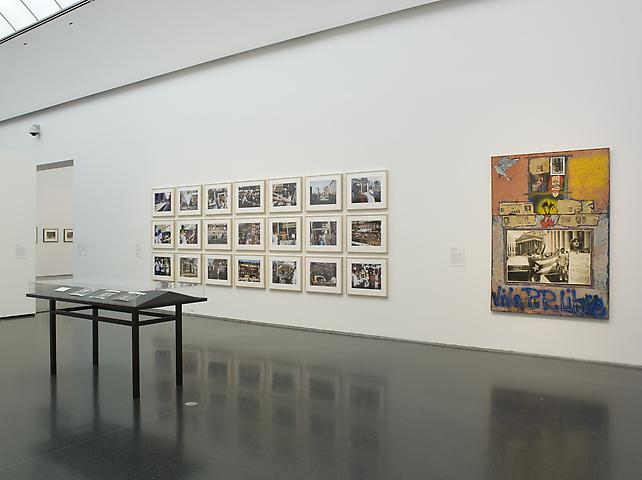 Lorraine O'Grady, Art Is... (center) This Will Have Been: This Will Have Been: Art, Love & Politics in the 1980s (2012) Installation view; Museum of Contemporary Art Chicago