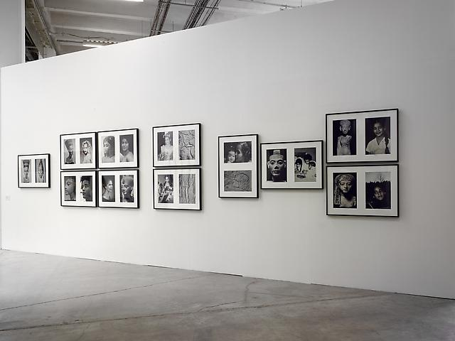 Lorraine O'Grady, Intense Proximity (2012) Miscegenated Family Album (1980/1994) Installation view, La Triennale