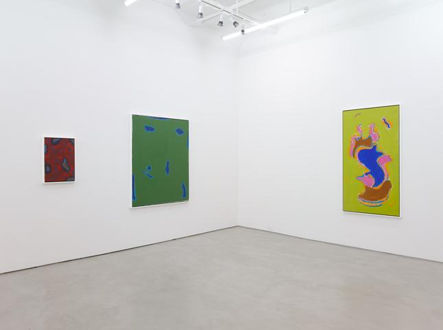 Betty Parsons: Invisible Presence, installation view, Alexander Gray Associates (2017)