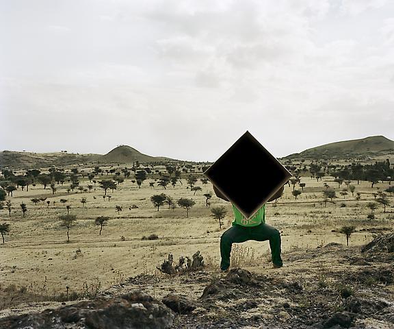 Dawit L. Petros Single Cube Formation, No. 4, Nazareth, Ethiopia, 2011 Chromogenic digital print; 36h x 30w in; Edition of 5 with 1 AP