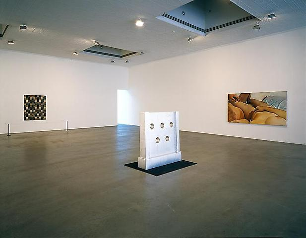 Installation view: Anni Albers, Robert Beck, Cady Noland, Joan Semmel, Nancy Shaver Mathew Marks Gallery, NY (1999)