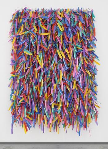 Combs (2016) Mixed media 108.27h x 78.74w x 27.56d in (275h x 200w x 70d cm)