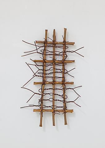 Hassan Sharif; Copper 5 (2012) Copper 18.5h x 12.2w x 3.9d in (47h x 31w x 9.9d cm)