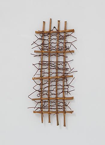 Hassan Sharif; Copper 6 (2012) Copper 23.6h x 10.2w x 3.5d in (59.9h x 25.9w x 8.9d cm)