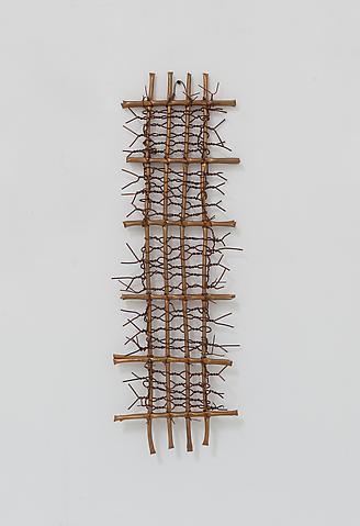 Hassan Sharif; Copper 7 (2012) Copper 86h x 29w x 6d in (218.4h x 73.7w x 15.2d cm)