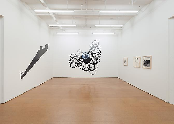 Regina Silveira Installation view, Alexander Gray Associates (2013)