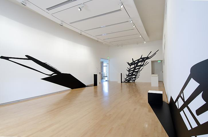 Regina Silveira: In Absentia (Collection) (2012) Installation View; The Aldrich Contemporary Art Museum