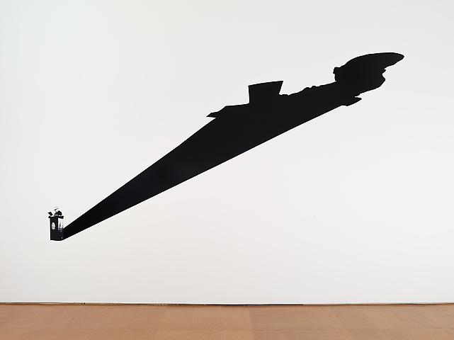 Discurso (from the series Dilatáveis) (1981/2003) Vinyl 157.5h x 79w in (400.05h x 200.66w cm); Edition of 3