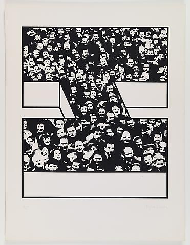 Middle Class & Co. (1971) Silkscreens on paper in 15 parts with front and back cover (part 3/15) 25h x 19w in (63.5h x 48.26w cm); Edition of 25