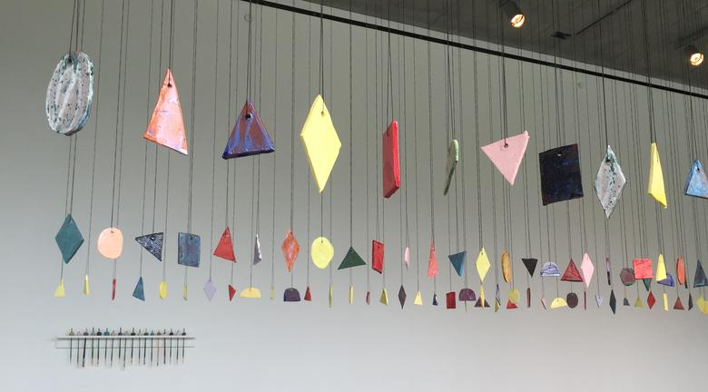 The Sound of ceramics (2016) Installation view Cohen Gallery at Brown University, Providence, RI