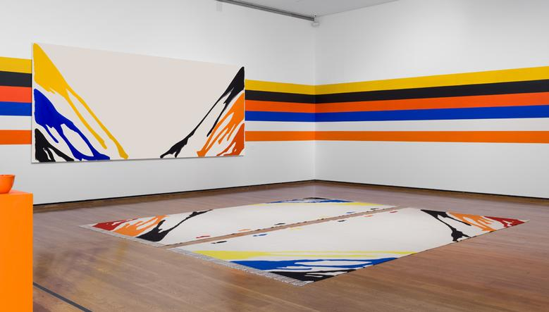 For the Love of Morris Louis (2015) Installation view Everson Museum of Art, Syracuse, NY