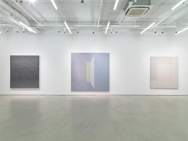 Jack Tworkov: Mark and Grid, 1931–1982, Installation View, Alexander Gray Associates (2015)