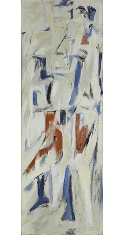 Adagio (1953) Oil on canvas, 80h x 28w in (203.2h x 71.1w cm) Collection The Metropolitan Museum of Art, New York